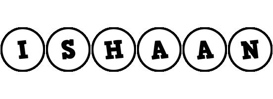 Ishaan handy logo
