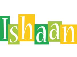 Ishaan lemonade logo