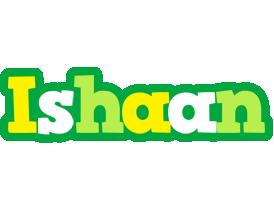 Ishaan soccer logo