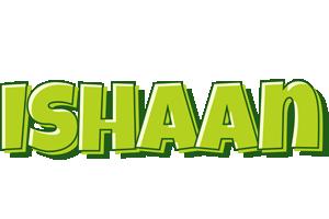 Ishaan summer logo