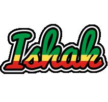 Ishak african logo