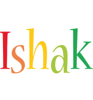 Ishak birthday logo