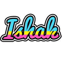 Ishak circus logo