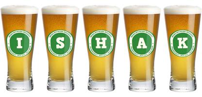 Ishak lager logo