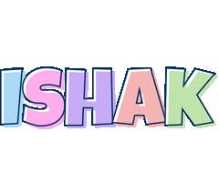 Ishak pastel logo