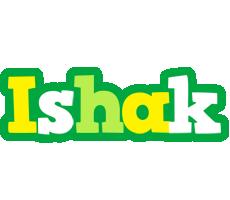 Ishak soccer logo
