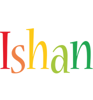 Ishan birthday logo