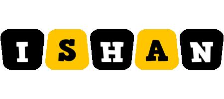 Ishan boots logo