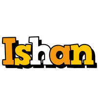 Ishan cartoon logo