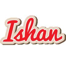 Ishan chocolate logo