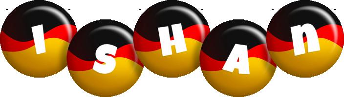 Ishan german logo