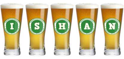 Ishan lager logo