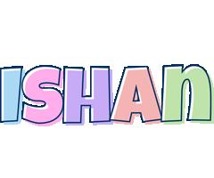 Ishan pastel logo
