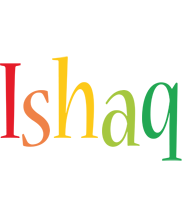 Ishaq birthday logo