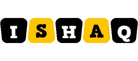 Ishaq boots logo