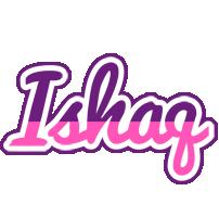 Ishaq cheerful logo