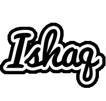Ishaq chess logo