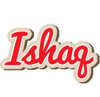 Ishaq chocolate logo