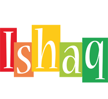 Ishaq colors logo