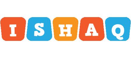 Ishaq comics logo
