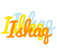 Ishaq energy logo