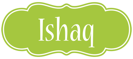 Ishaq family logo