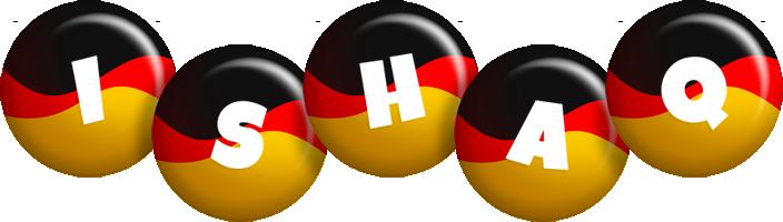 Ishaq german logo