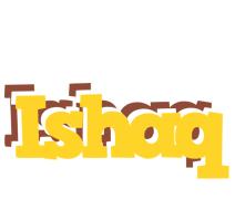 Ishaq hotcup logo