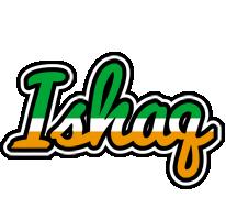 Ishaq ireland logo