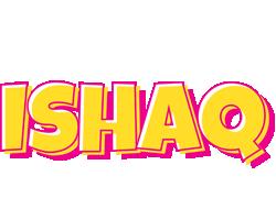 Ishaq kaboom logo