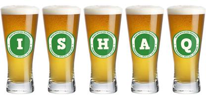Ishaq lager logo