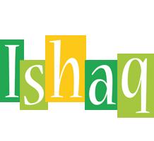 Ishaq lemonade logo