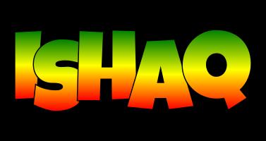 Ishaq mango logo
