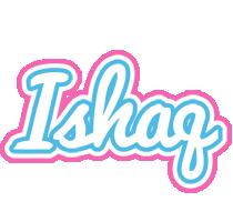 Ishaq outdoors logo