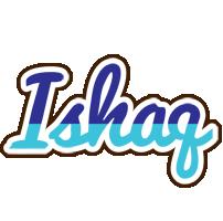 Ishaq raining logo