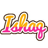 Ishaq smoothie logo
