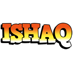 Ishaq sunset logo