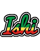 Ishi african logo