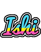 Ishi circus logo