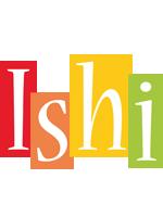 Ishi colors logo