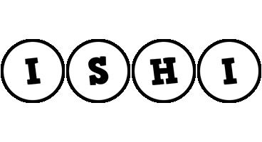 Ishi handy logo