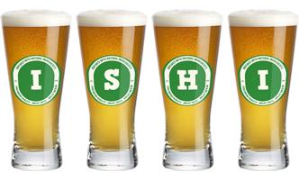 Ishi lager logo