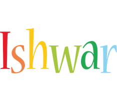 Ishwar birthday logo