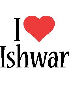 Ishwar i-love logo