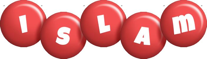 Islam candy-red logo