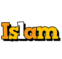 Islam cartoon logo