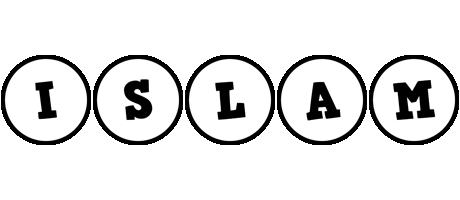 Islam handy logo