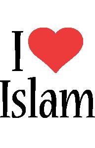 Islam i-love logo