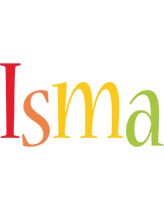 Isma birthday logo