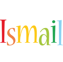 Ismail birthday logo